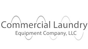 Commercial Laundry Equipment Company Logo